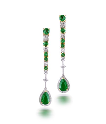 Verdant Emerald Earrings