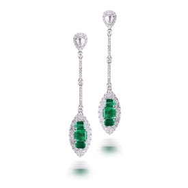Emerald Meadow Earrings