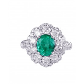 Emerald Eclipse Ring